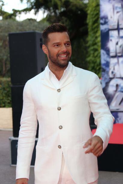 Por supuesto, Ricky Martin tiene que encabezar esta lista.