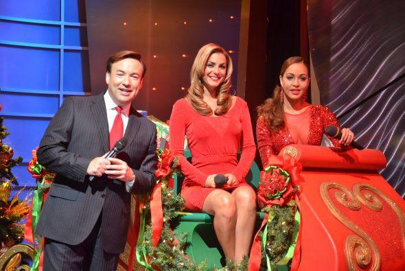 Entre los cortes comerciales Javier Romero, Rosina Grosso y Karol Rosa a...