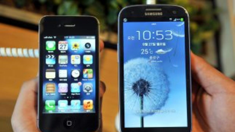 Samsung iPhone con sistema operativo Android.