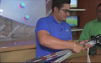 Juan Luis Contreras, una promesa del golf