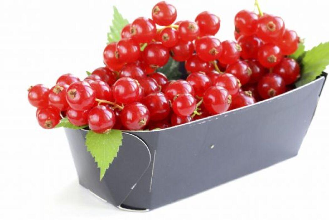 Las cranberries, blueberries y Blackberries (arándanos de distinto tipo)...