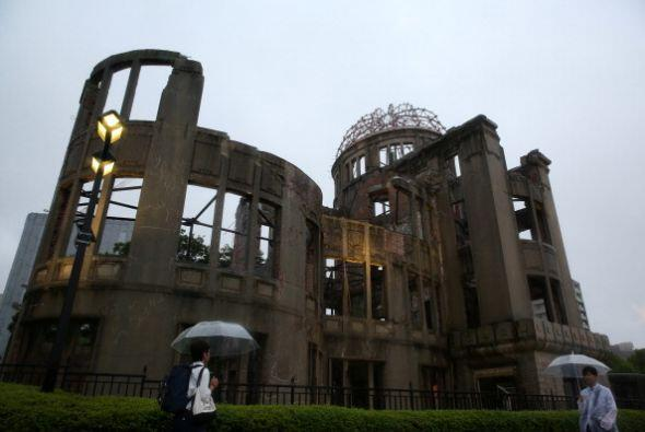Coincidiendo con la conmemoración del 70 aniversario del bombarde...
