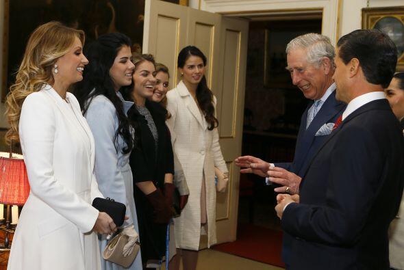 ¡Así es! Peña y Angélica también se llevaron a sus hijas a la visita de...