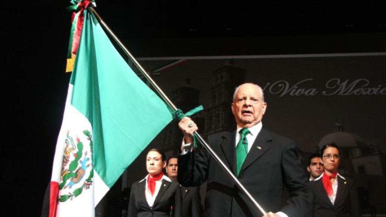 El Grito 2012 - Ceremonia
