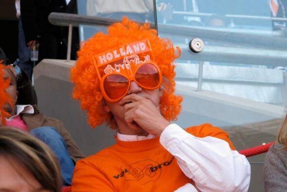 Pero los visitantes, como este holandés, están disfrutando...