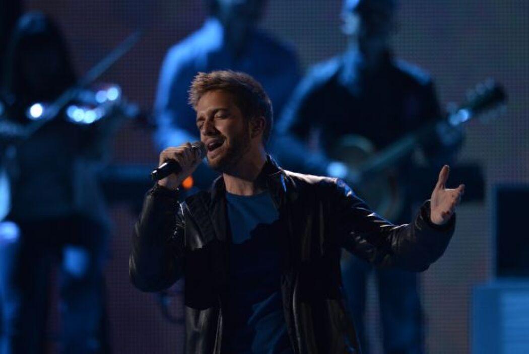 Por lo que vemos, el cantautor entregará 'cuerpo y alma' en el escenario.