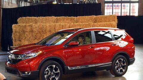 Presentación a los medios de la nueva Honda CR-V 2017 en Detroit