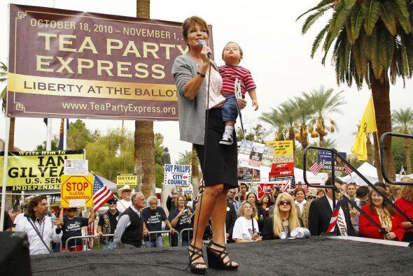 Pese a sus debilidades, Sarah Palin se mantiene como una voz de liderazg...