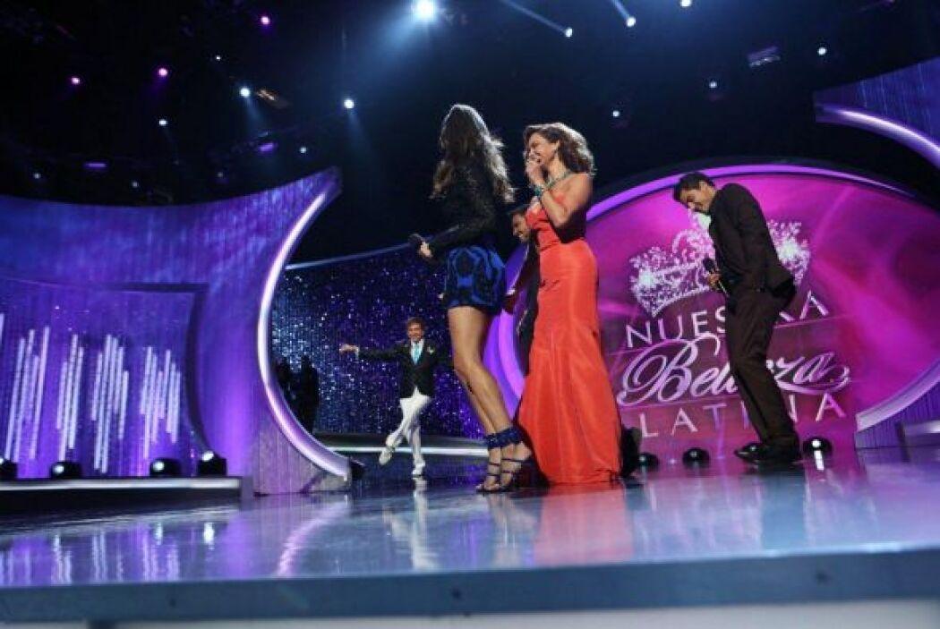 Quedó comprobado que cuando se trata de bailar nuestra Gigi es puro ritm...