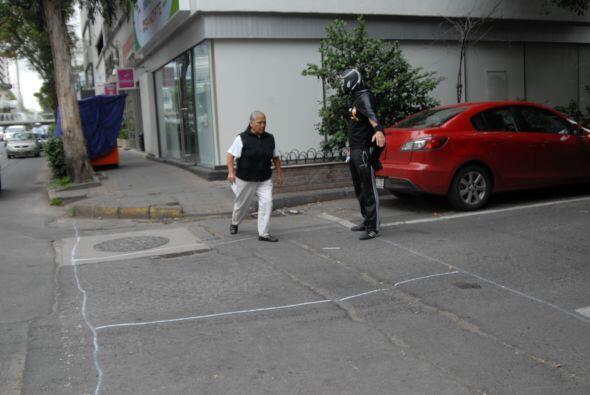De este modo, los peatones ya tienen su propio espacio para cruzar.