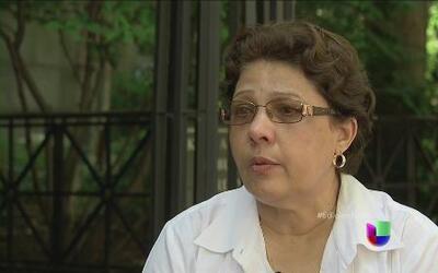 Rita, la inmigrante hondureña que perdió a su hijo