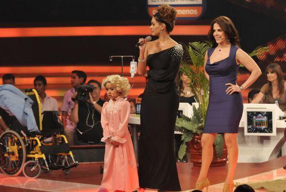 Ana Celeste tuvo la gran oportunidad de actuar al lado de Rebeca Jones,...