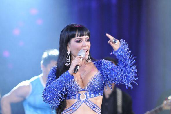 Esta actriz lleva mucho tiempo haciendo shows donde canta y baila.