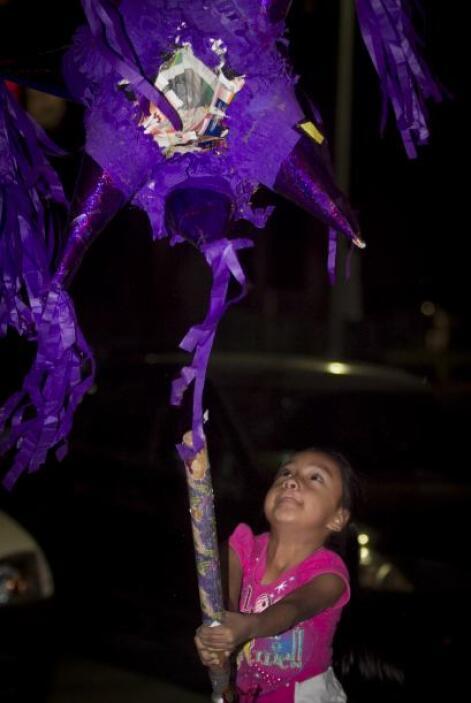"""En las posadas se """"rompe"""" la piñata, las cuales cuentan con siete picos,..."""