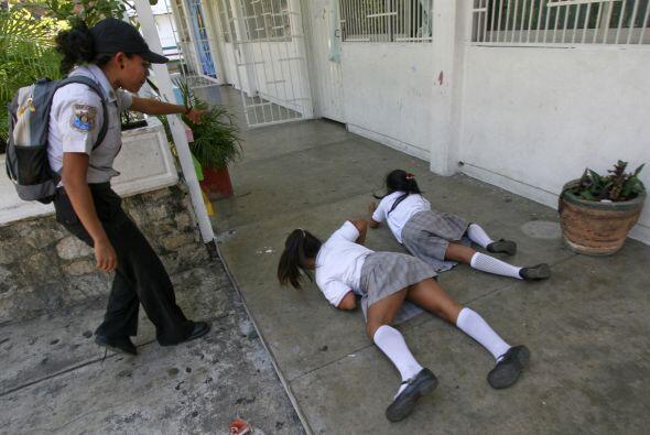 Los entrenamientos han sido tanto en escuelas públicas como priva...
