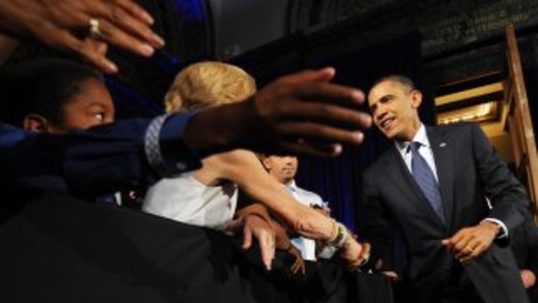 Barack Obama llegó a la mitad de su mandato como presidente. Es hora de...