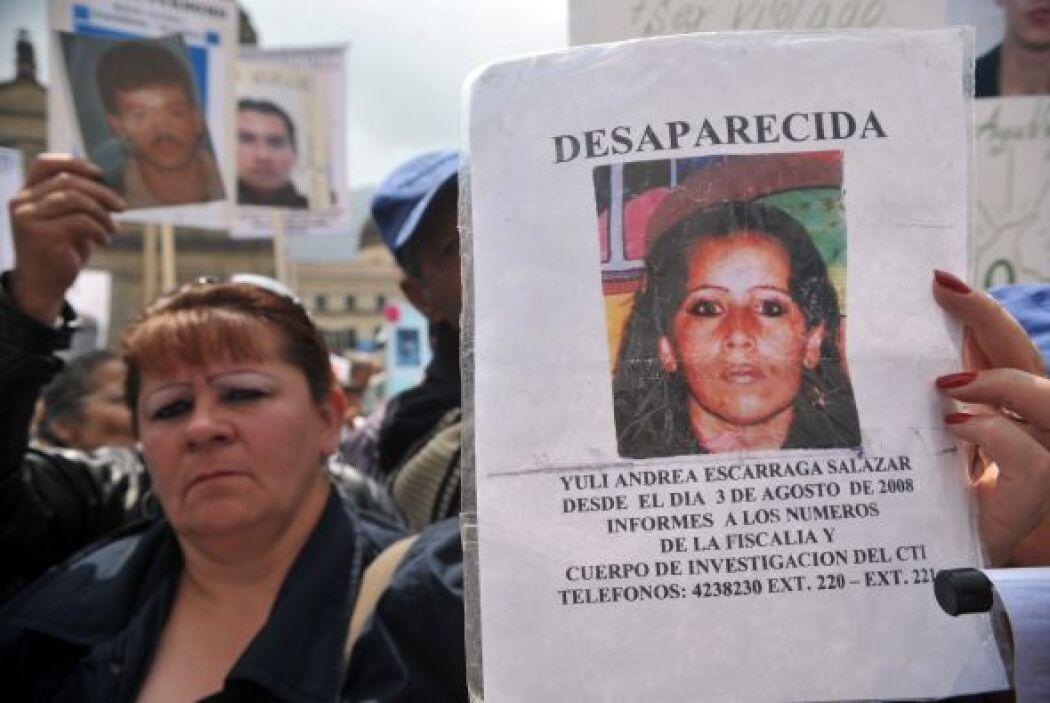 """""""Primero liberen a los secuestrados y dígannos qué pasó con los desapare..."""