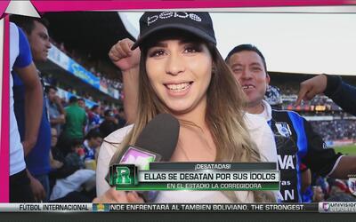 Las desatadas: Ellas se desataron por sus ídolos en el Estadio La Correg...