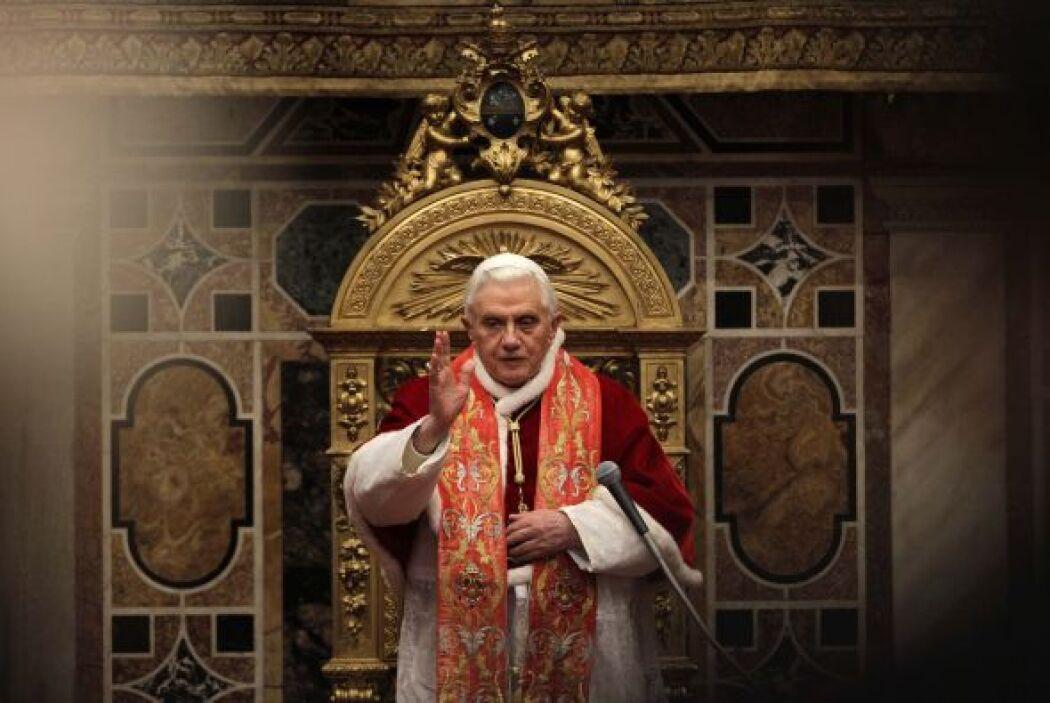 Benedicto XV hizo un llamado a los sacerdotes y obispos presentes a cues...