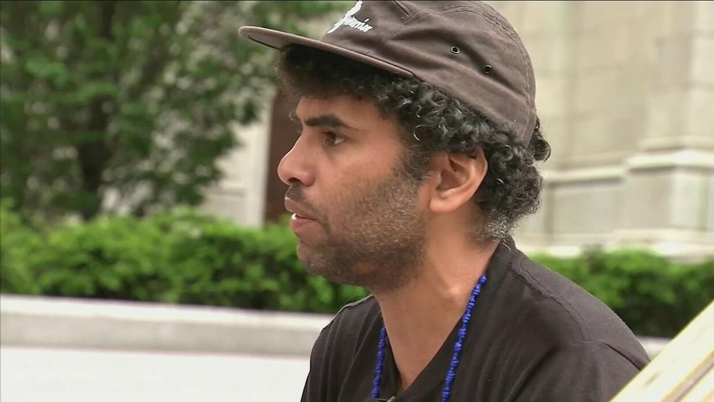 """""""Ningún ser humano es ilegal"""", dice neoyorquino en huelga de hambre en l..."""