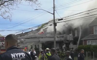 Investigan las causas del voraz incendio que dejó cinco personas falleci...