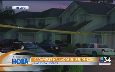 Hallazgo de dos cadáveres en Hacienda Heights