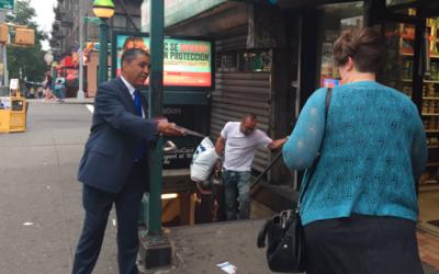 Adriano Espaillat ganó con una intensa campaña en las calles de NYC.