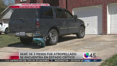 Pequeño es arrollado por la camioneta de su madre