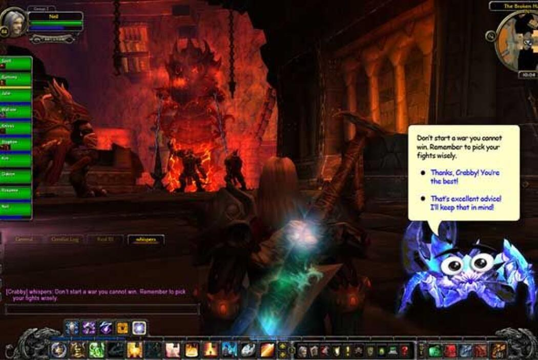 World of Warcraft presenta a Crabby (2011) - Si usaron Microsoft Word en...