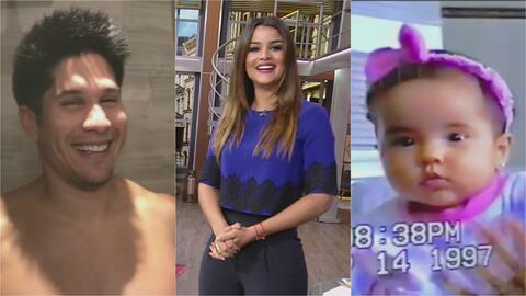 Clarissa Molina mostró el cuerpazo de Chino y a Becky G cuando era una bebé