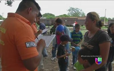 México someterá a centroamericanos a un estricto control sanitario cuand...
