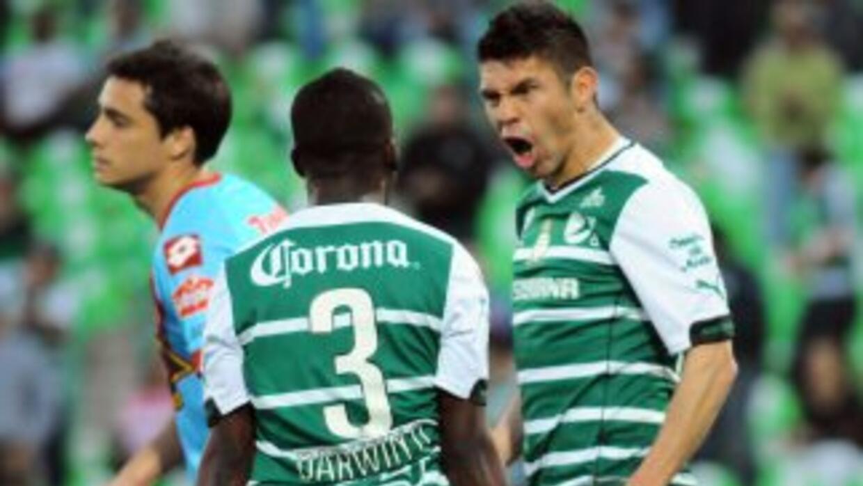 Santos Laguna comenzó su participación en Copa Libertadores, derrotando...