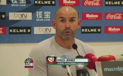 Paco Jémez agradece el interés de México para tomar al 'Tri'