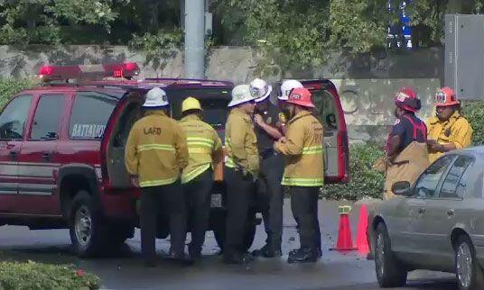 El Departamento de Bomberos de Los Ángeles (LAFD por sus sigla en...