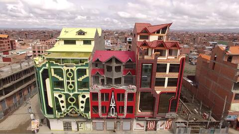 Cholets: los extravagantes edificios de lujo de la burguesía aimara