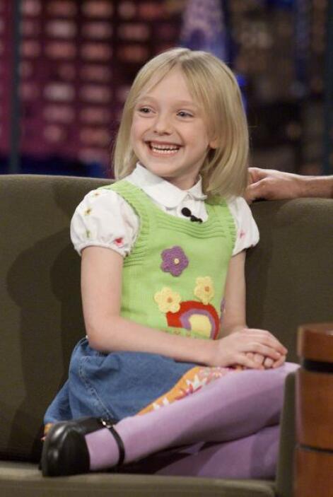 En enero de 2002, Dakota ya hacía entrevistas como los profesionales. Aq...