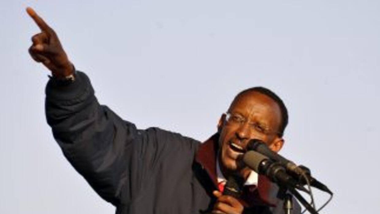 Pese a que el presidente saliente de Rwanda, Paul Kagame, está a la espe...