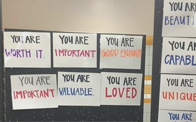 """""""Eres hermosa"""", """"eres inteligente"""" y """"eres única"""", mensajes que reemplaz..."""