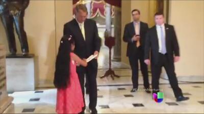 Jersey Vargas le pide a John Boehner que frene la separación de familias
