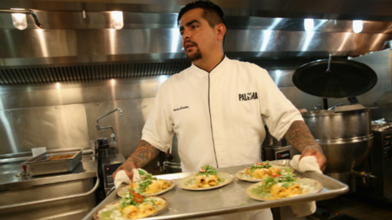 Aarón Sánchez es uno de los chefs hispanos más reconocidos de Nueva York.