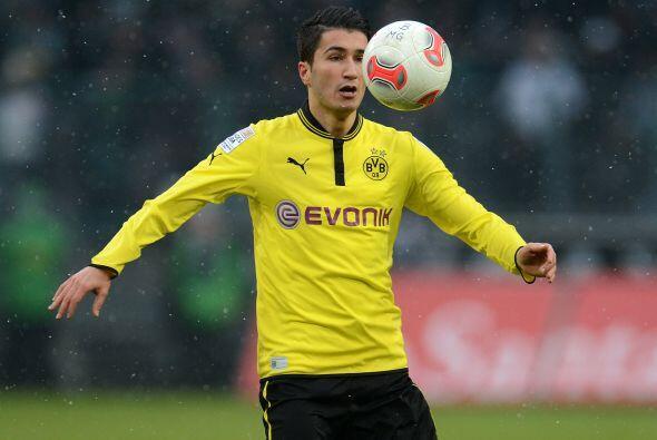 El Borussia Dortmund vio cómo el turco Nuri Sahin se echó...