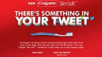 Imagen de la campaña lanzada por Colgate.