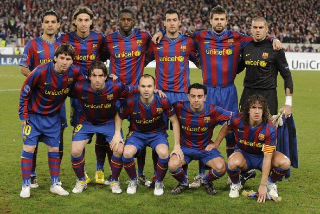 Rafael Márquez fue parte de la época dorada del Barcelona, ya que estuvo...