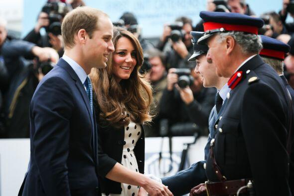La pareja real está retomando sus actos sociales, ahora que Kate se sien...
