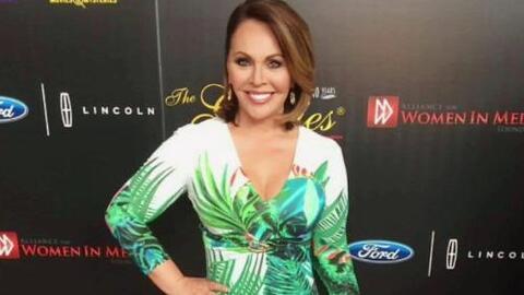 María Elena Salinas recibió el Premio Gracies