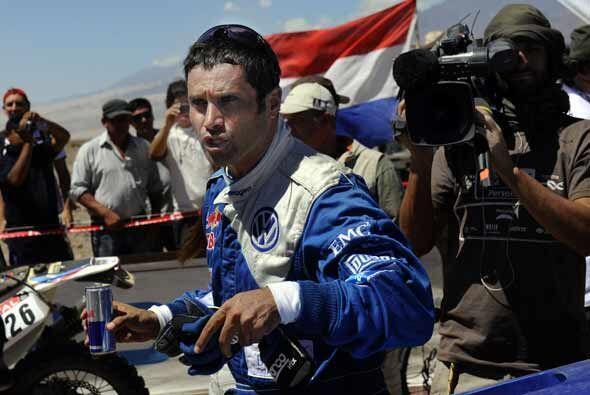 El qatarí Nasser Al-Attiyah sigue a la cabeza en la general del r...