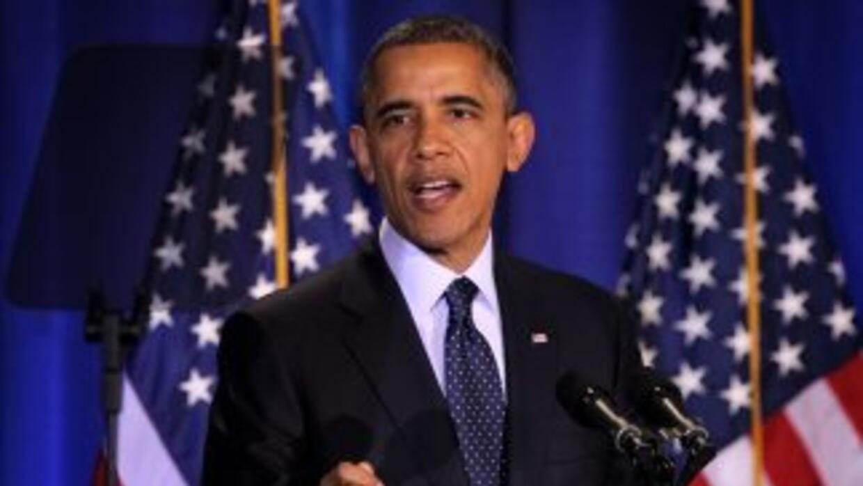Obamaafirmó que un trato fiscal se podría alcanzar en una semana si los...