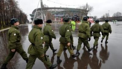 Cerca de 100 mil militares y agentes especiales se encuentran actualment...