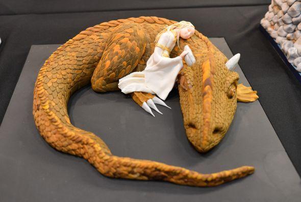 ¡Este dragón seguramente es delicioso!