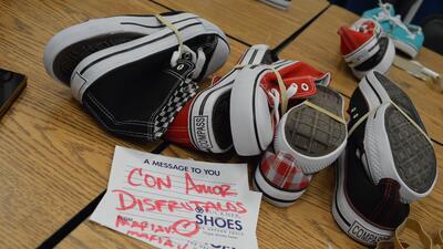 Donación Zapatos